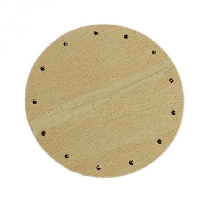 Dno na pletení - kruh, ⌀ 9 cm