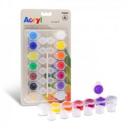 Sada akrylových barev Primo - základní