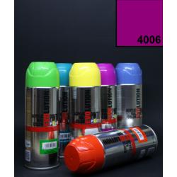 Akrylový sprej Evolution, 400 ml - fuchsiový