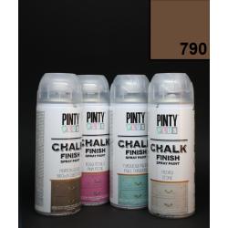 Křídový sprej Chalk Paint PintyPlus, 400 ml - hnědý