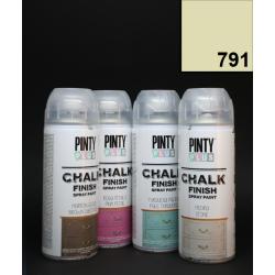 Křídový sprej Chalk Paint PintyPlus, 400 ml - pískový