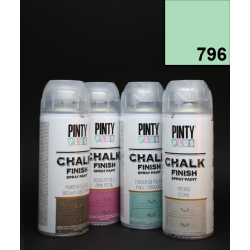 Křídový sprej Chalk Paint PintyPlus, 400 ml - mintový