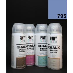 Křídový sprej Chalk Paint PintyPlus, 400 ml - modrý