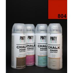 Křídový sprej Chalk Paint PintyPlus, 400 ml - červený