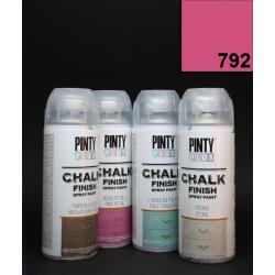 Křídový sprej Chalk Paint PintyPlus, 400 ml - růžový
