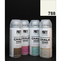 Křídový sprej Chalk Paint PintyPlus, 400 ml - bílý