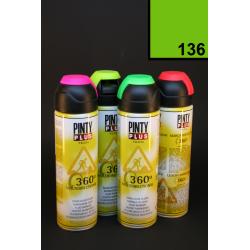 Vícesměrový zvýrazňovač PintyPlus, 500 ml - neon zelený