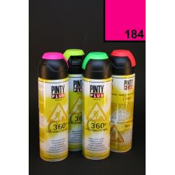 Vícesměrový zvýrazňovač PintyPlus, 500 ml - neon růžový