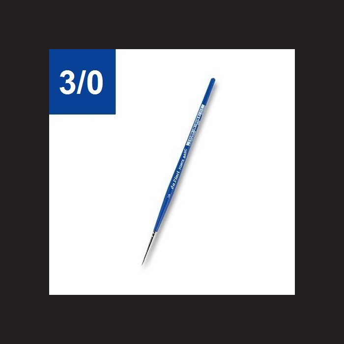Syntetický štětec da Vinci Forte 3/0, kulatý