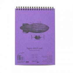 Bílý skicák SMLT art - tužka a pero, 30 x A4, 130 g