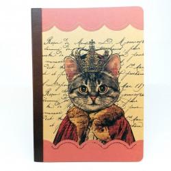 Tečkovaný sešit na kaligrafii, A5 - kočičí král