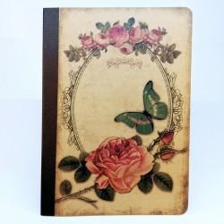 Tečkovaný sešit na kaligrafii, A5 - vintage