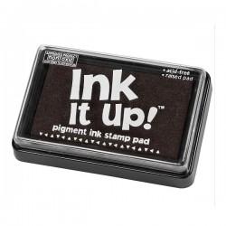 Inkoustový polštářek pro razítkování - černý