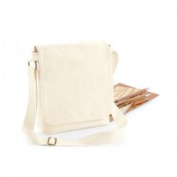 Bavlněná taška s popruhem - přírodní