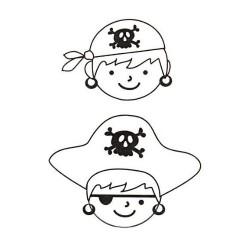 Smršťovací obrázek - piráti