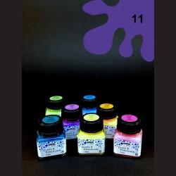 Barva na porcelán Clear - fialová, 20 ml