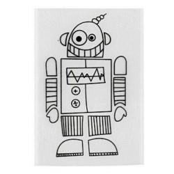 Smršťovací obrázek - robot 3