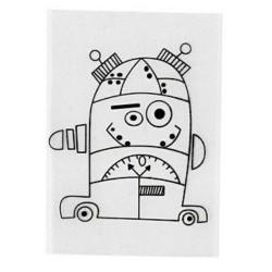 Smršťovací obrázek - robot 1