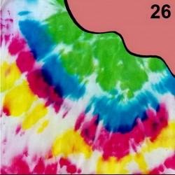 Barva na batikování, 30 g - lososová