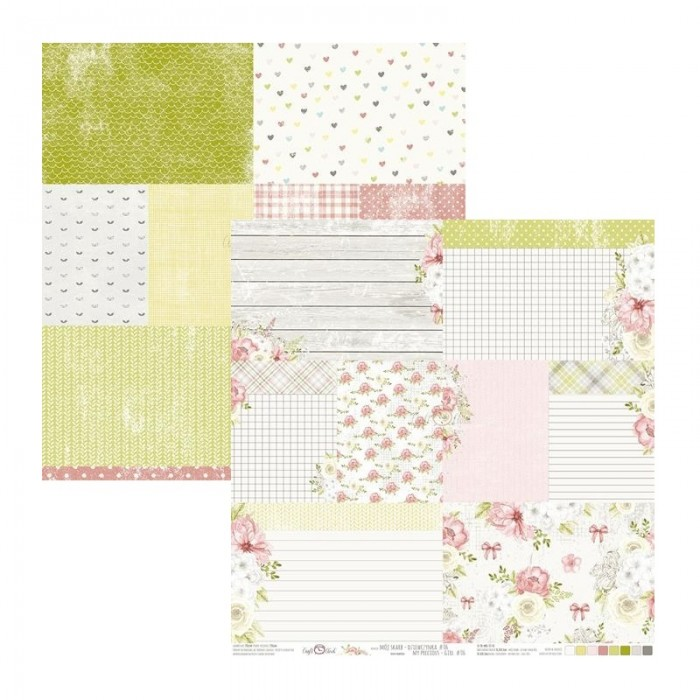 Papír na scrapbook - My precious girl 06, 30,5 x 30,5