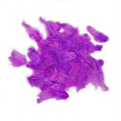 Dekorativní peří - fuchsiové, 10 g