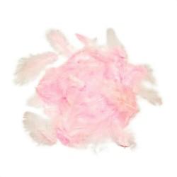 Dekorativní peří - růžové, 10 g