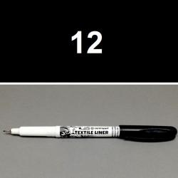 Liner na textil černý, 0,3 mm