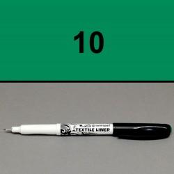 Liner na textil zelený, 0,3 mm