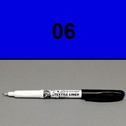 Liner na textil modrý, 0,3 mm