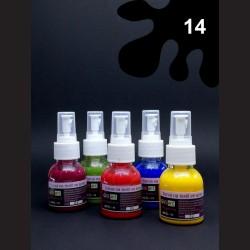 Barva na textil ve spreji - černá, 65 ml