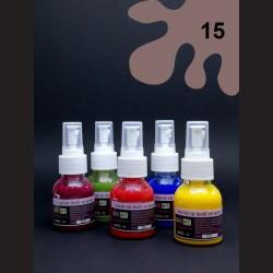 Barva na sv. textil ve spreji - hnědá, 65 ml