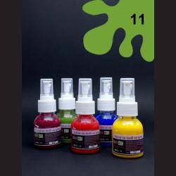 Barva na sv. textil ve spreji - zelená, 65 ml