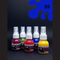 Barva na textil ve spreji - tm. modrá, 65 ml