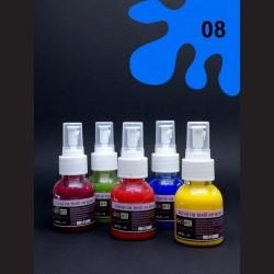 Barva na sv. textil ve spreji - modrá, 65 ml