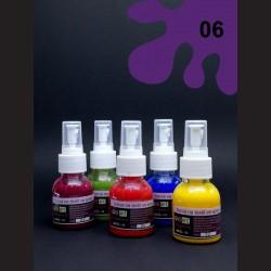 Barva na textil ve spreji - fialová, 65 ml