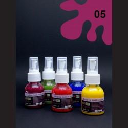 Barva na textil ve spreji - vínová, 65 ml