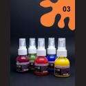 Barva na sv. textil ve spreji - oranžová, 65 ml
