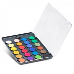 Vodové barvy PRIMO, 24 barev
