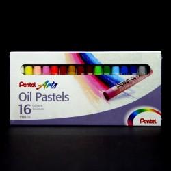 Olejové pastely Pentel Arts, 16 kusů