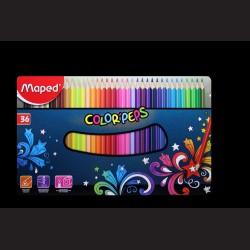 Pastelky v krabičce Maped Color' Peps, 36 kusů