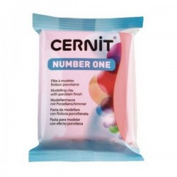 Cernit Number One - korálový, 56 g