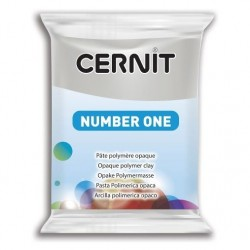 Cernit Number One - šedý, 56 g