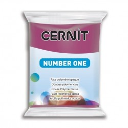 Cernit Number One - bordó, 56 g