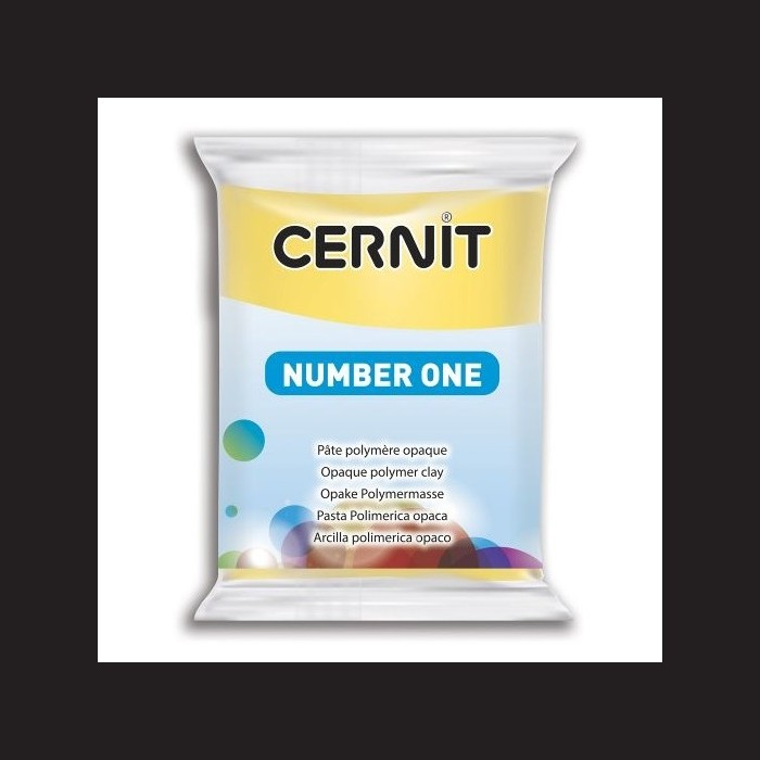 Cernit Number One - žlutý, 56 g