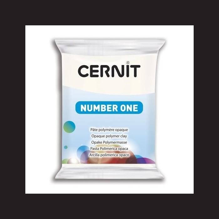 Cernit Number One - krycí bílý, 56 g