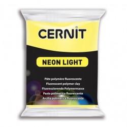 Cernit Neon Light - žlutý, 56 g
