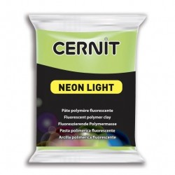 Cernit Neon Light - zelený, 56 g
