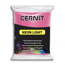 Cernit Neon Light - růžový, 56 g