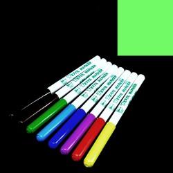 Fix na textil fosforově zelený, 2 mm