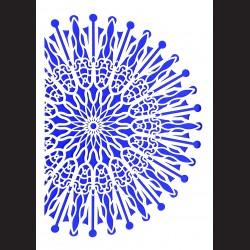 Plastová šablona A4 - ornament, N002V